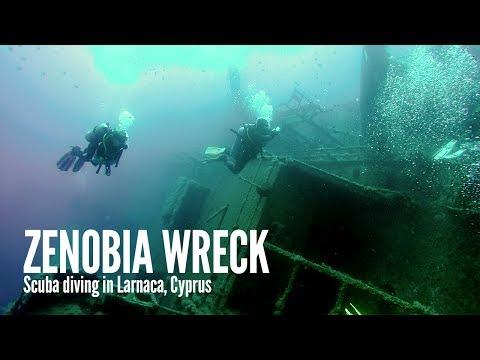 Zenobia wreck: scuba diving near Larnaca, Cyprus