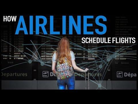How Airlines Schedule Flights