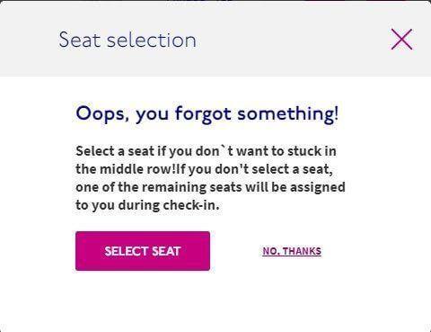 בחירת כיסאות לטיסה