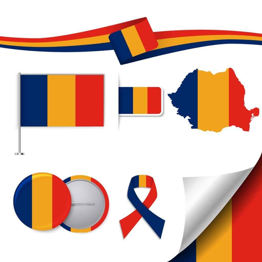 סמלים שונים של רומניה