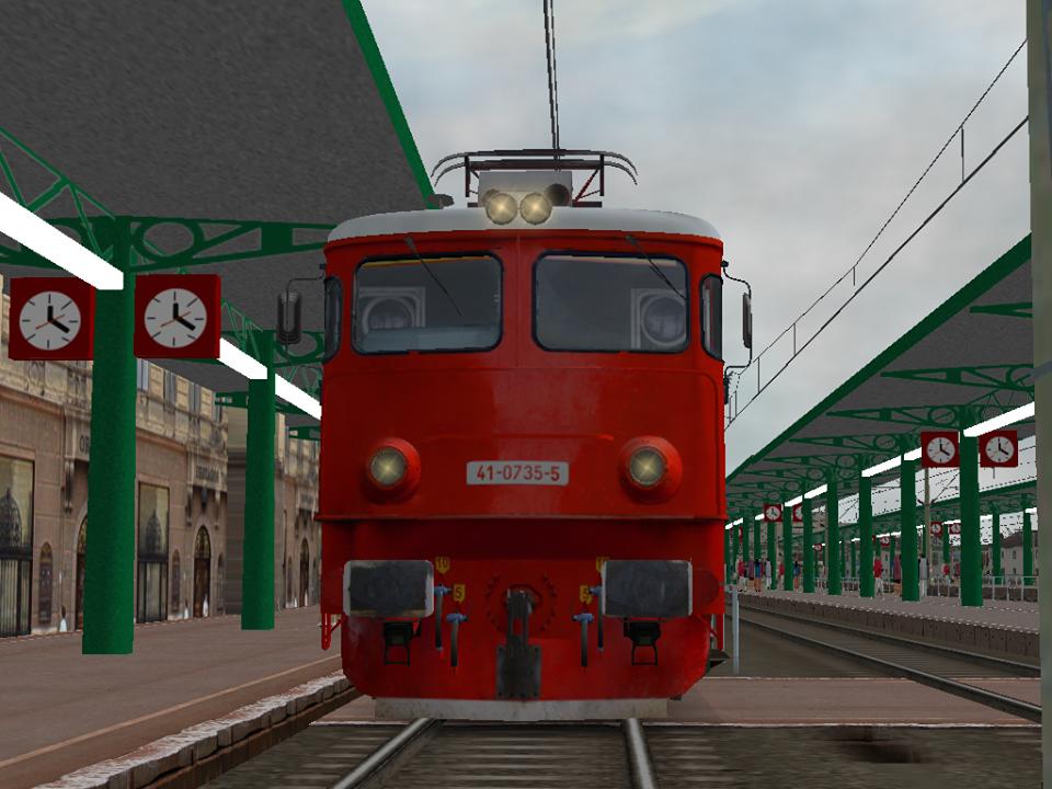 רכבת ברומניה