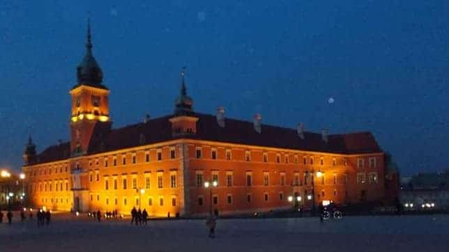 הטירה המלכותית העיר העתיקה ורשה