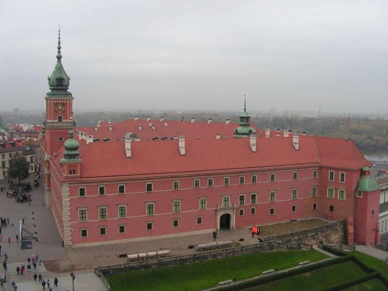 הטירה המלכותית ורשה