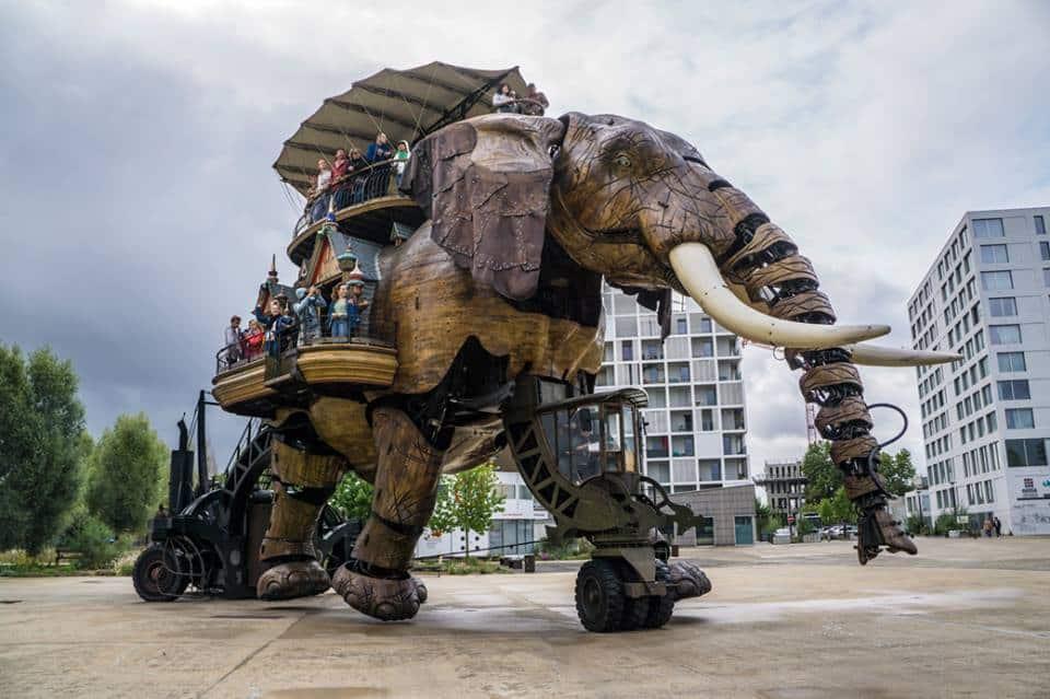 הפיל ב- Les Machines de l'Île
