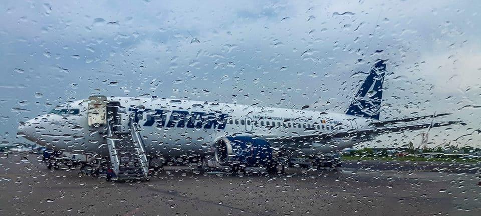 מטוס טארום בשדה התעופה של בוקרשט