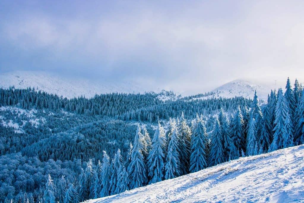 רומניה בחורף