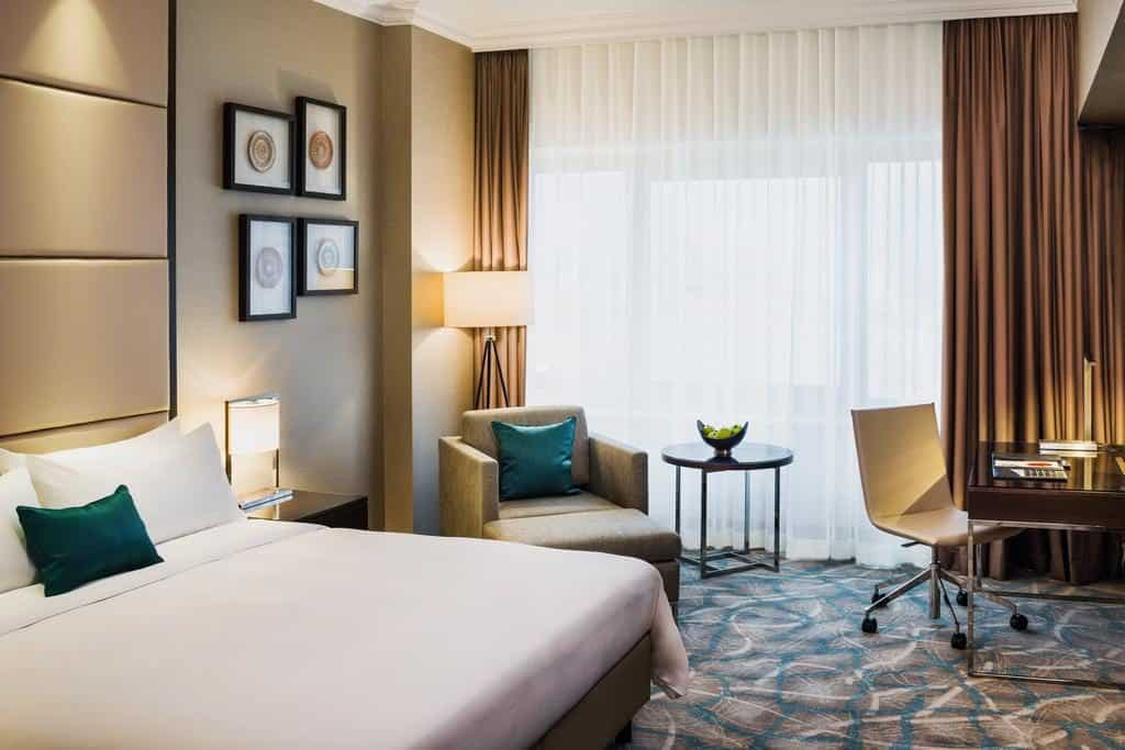 חדרים מלון מריוט בוקרשט