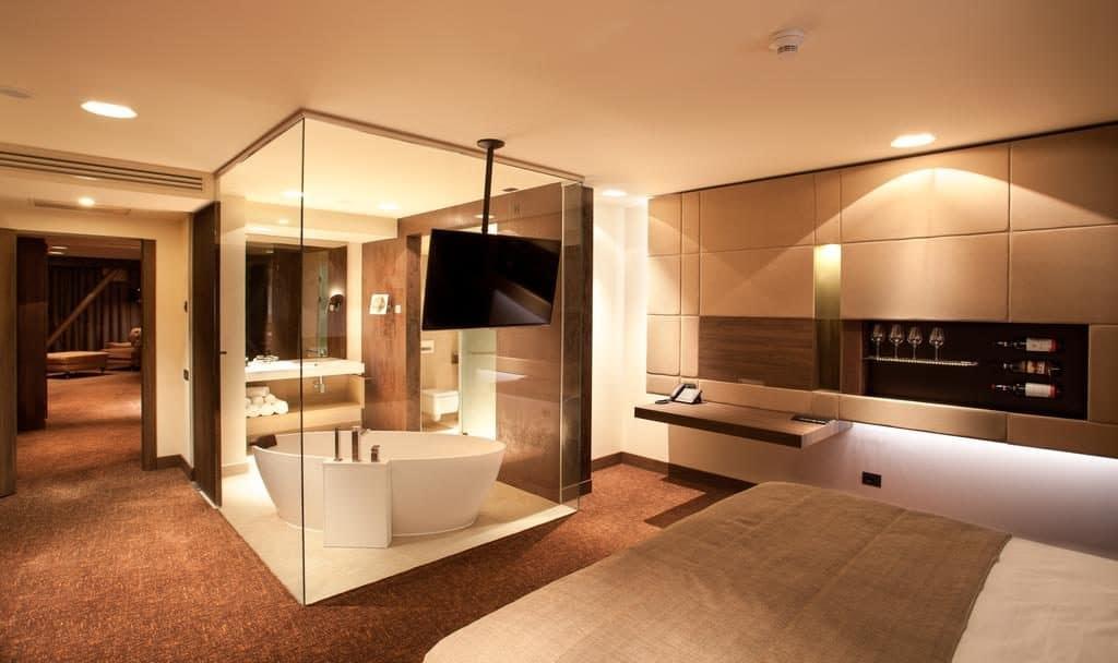 חדר במלון Kronwell Brasov