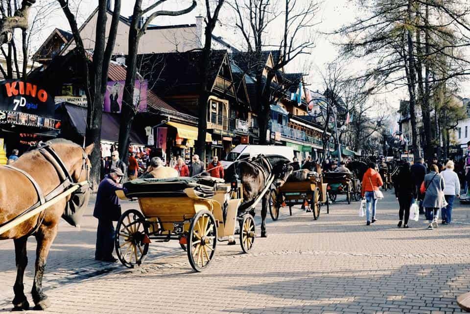 רחוב Krupówki