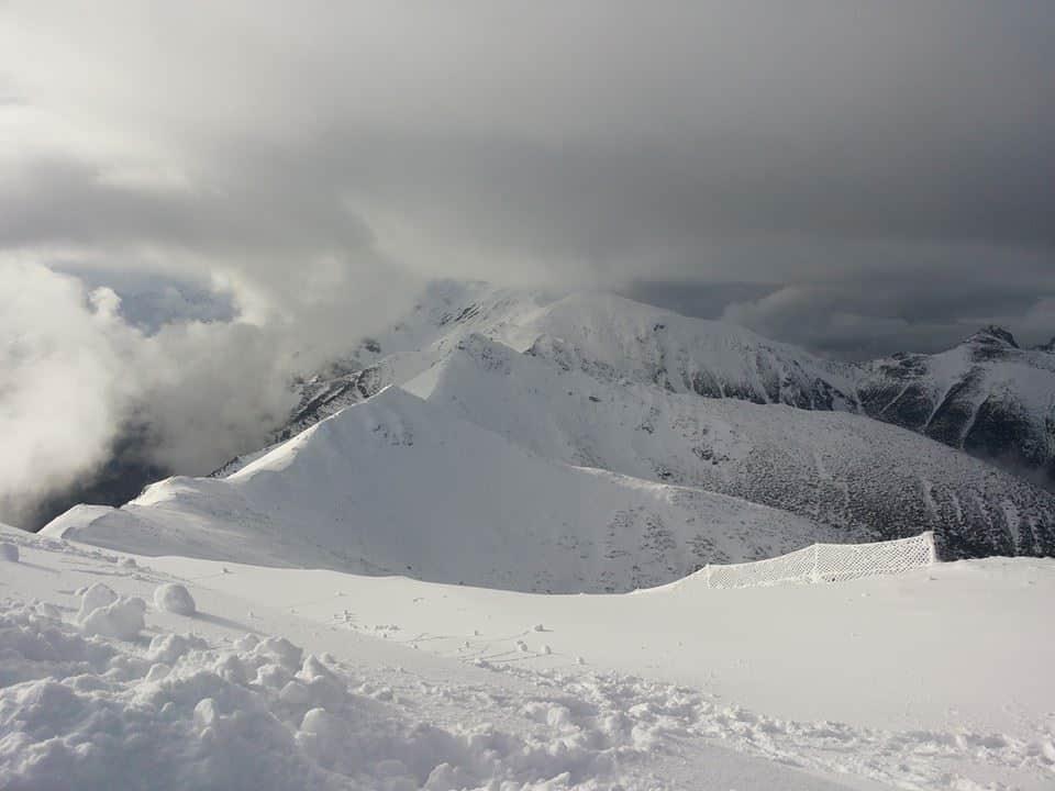 שלג בהר Kasprowy Wierch