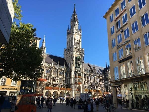 בניין העירייה החדש של מינכן