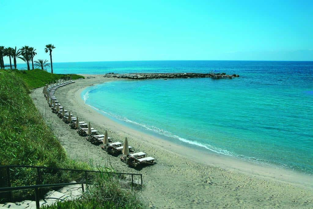 חוף ליד מלון אלכסנדר