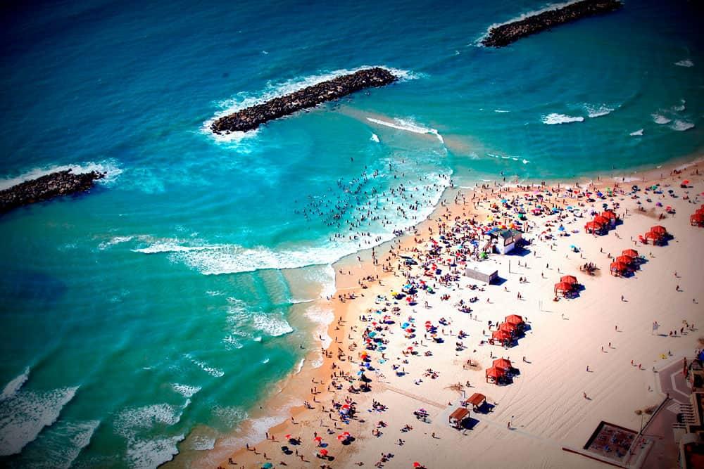 חוף הים של אשקלון