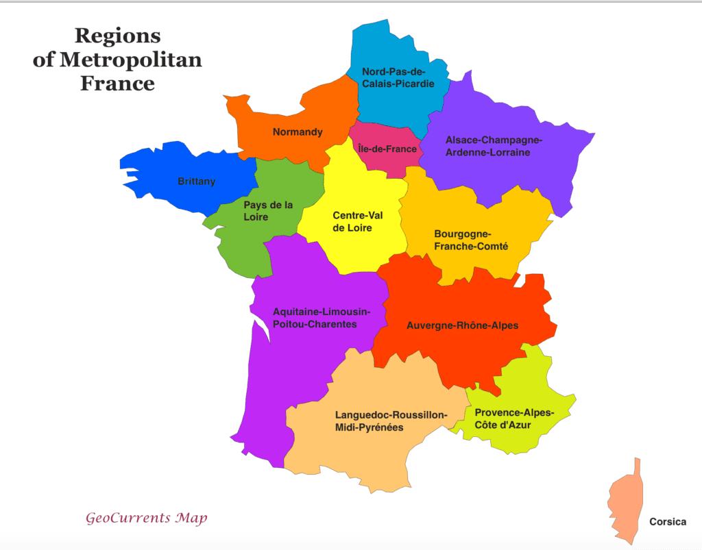 מחוזות צרפת
