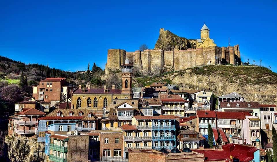 מבצר נריקלה בטביליסי